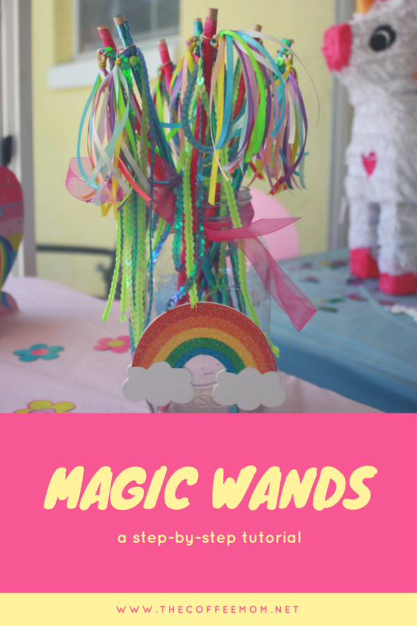 Magic Wands | Unicorn Party | Fairy Party | DIY