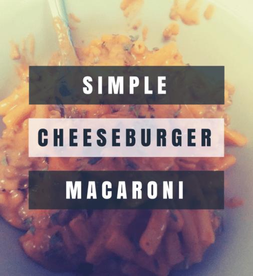 Simple Cheeseburger Macaroni