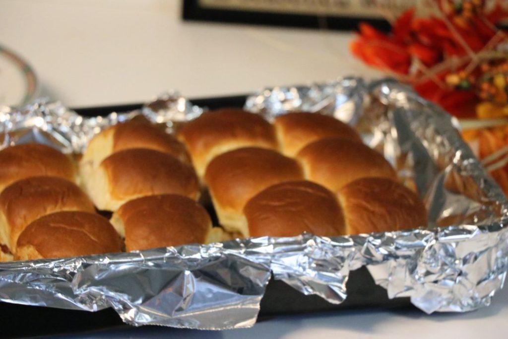Thanksgiving Leftover Sliders