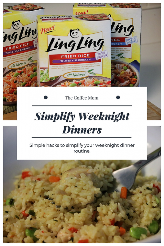 (ad) Simplify Weeknight Dinners with Ling Ling Fried Rice
