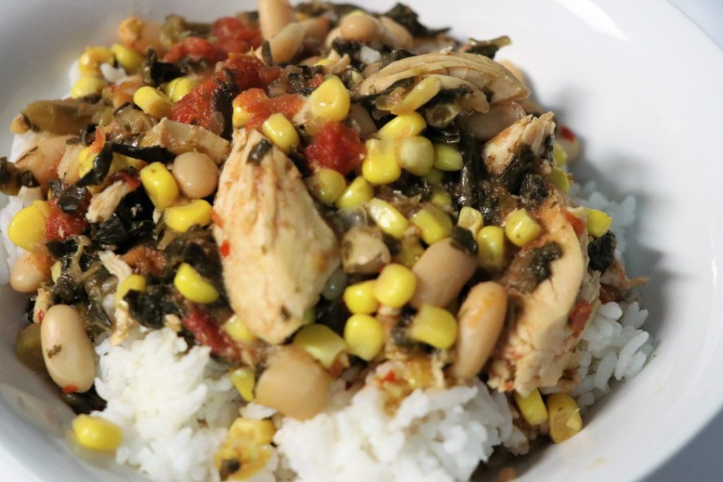 Slow Cooker Cowboy Chicken and Rice