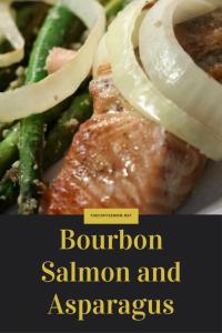 burbon salmon and asparagus