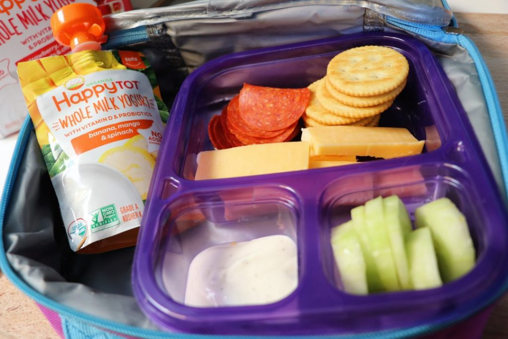 Healthy lunch ideas DIY lunchable