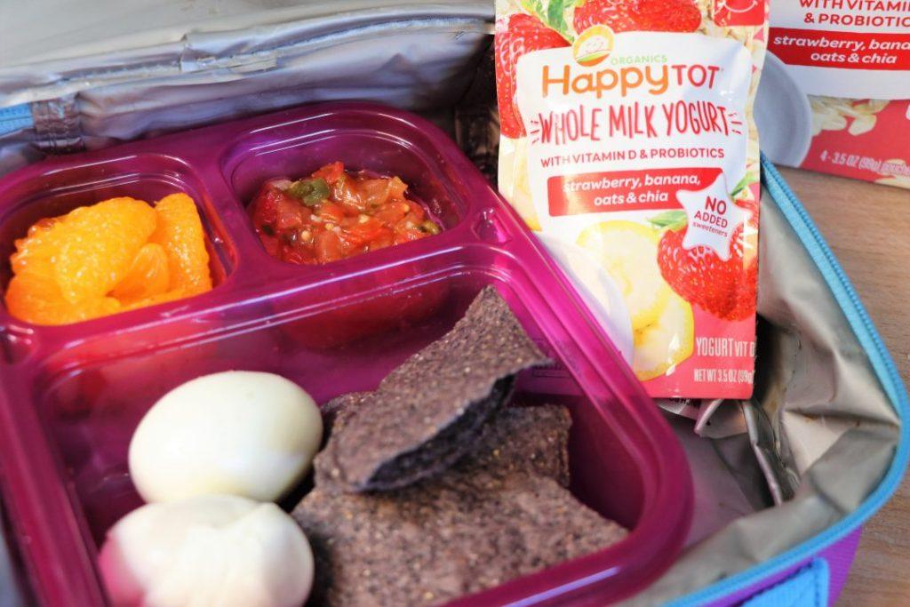 boiled eggs healthy school lunch