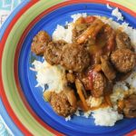 Easy Italian sausage with peppers