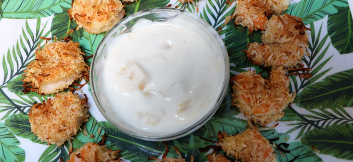 Red Lobster Inspired Pina Colada Shrimp Sauce