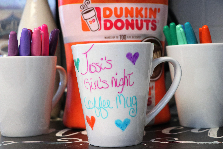 Girls' Night in Coffee Bar