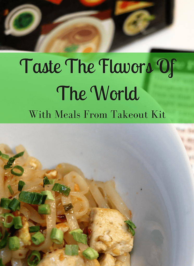Taste the flavors of the world with the takeout kit meal subscription service.