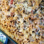 Easy beef noodle casserole
