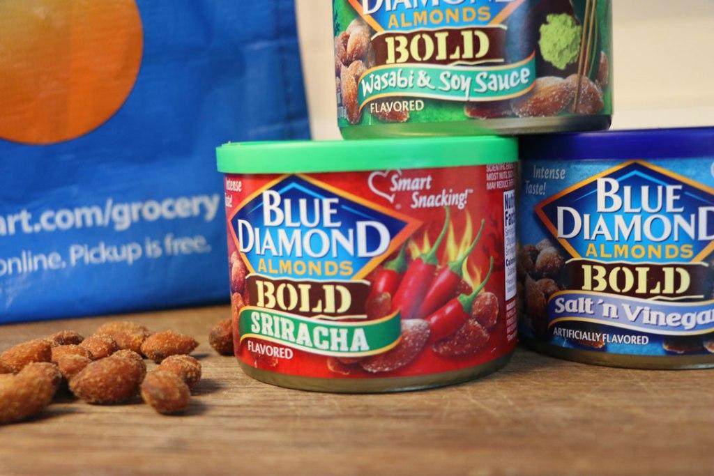 Blue diamond snack almonds walmart