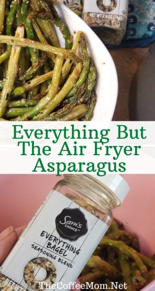 easy Air Fryer asparagus