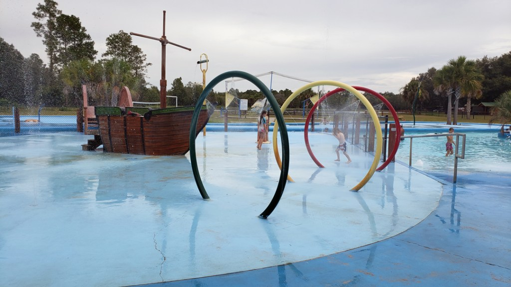 water park at ragan's family campground in florida