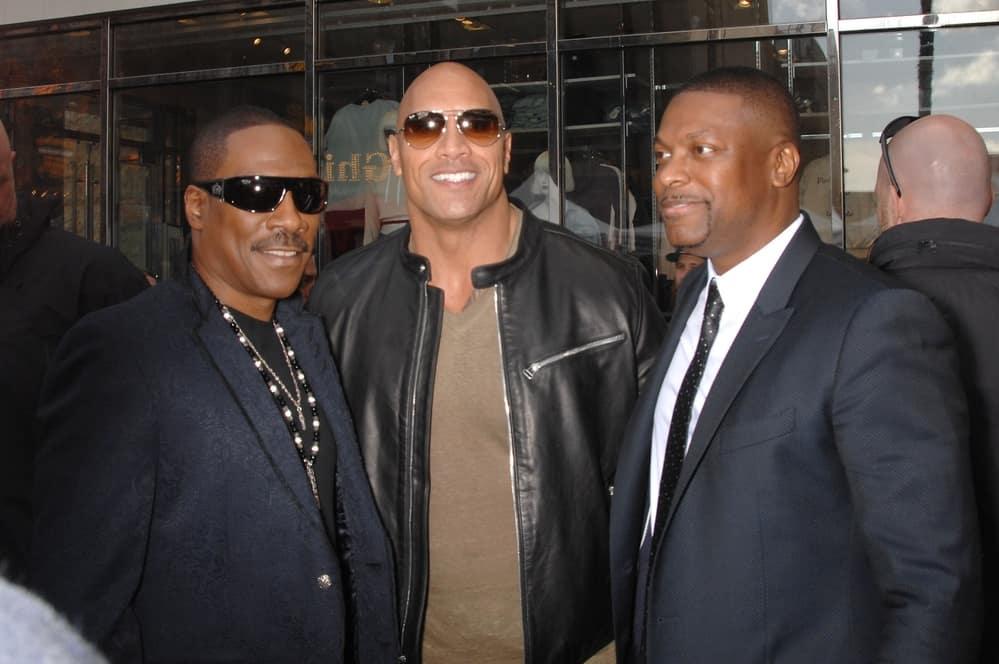Eddie Murphy, Dwayne Johnson, Chris Tucker