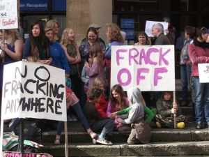 NOFRACK shire hall pic sept 2015