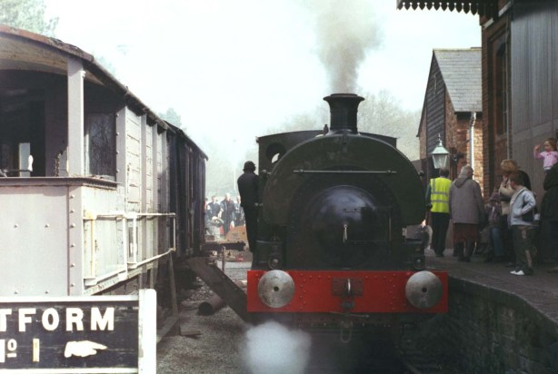 Loco in steam CGWR