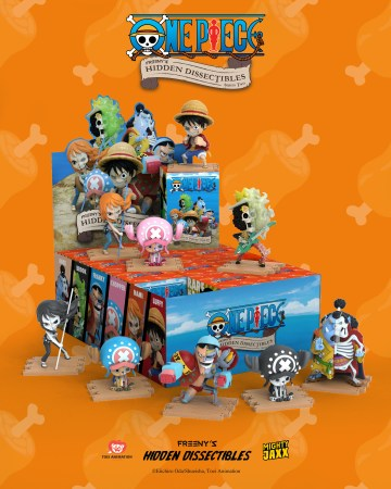 [LIVE BLINDBOX] Mighty Jaxx Freeny's Hidden Dissectables: One Piece Wave 2