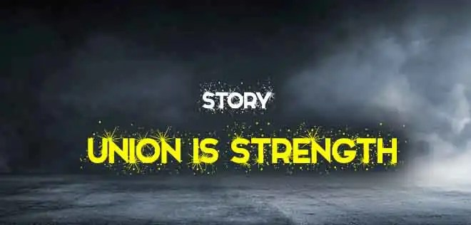 Union is Strength Short Story in English (300 words) | The