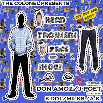 The Colonel 'Head, Trousers, Face And Shoes' cover art.