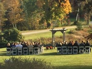 Colonel Williams Inn wedding
