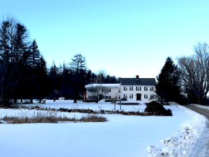 Vermont B&B in winter