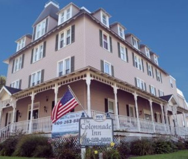 The Colonnade Inn In Beautiful Sea Isle City