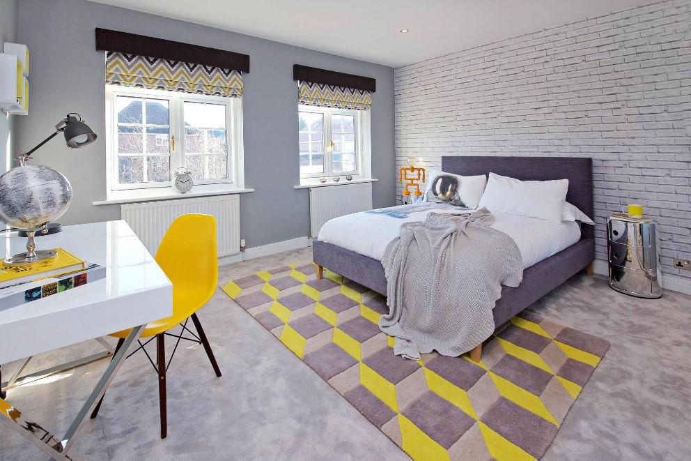 Yellow Accents Sarah Mailer Design Interior