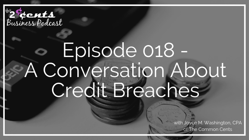 Episode 018 - A Conversation About Credit Breaches with Nikki Tucker