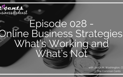 Episode #028 – Online Business Strategies: What's Working and What's Not