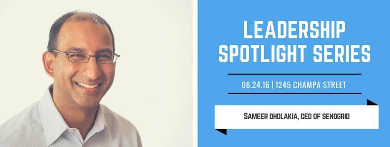 commons on champa leadership spotlight series sameer dholakia