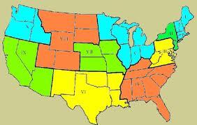 Nixon's Ten FEMA regions
