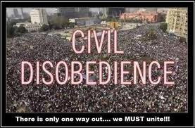 civil disobedience