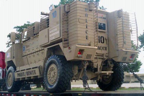 DHS Assault Vehicle