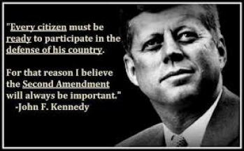 jfk 2nd amendment
