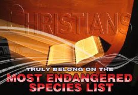 christians endangered species