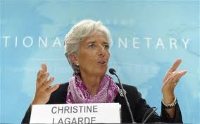 "The ultimate ""gold-digger"", IMF Director, Christine Lagarde."