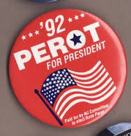 perot campaign sticker