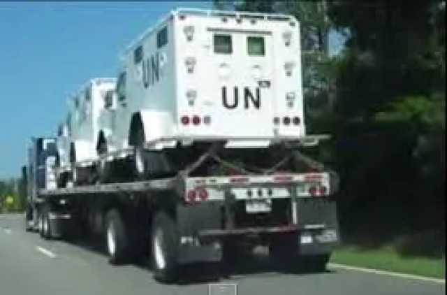 The United Nations Is positioning for the takeover of the United States.