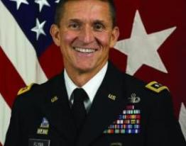 Recently fired Defense Intelligence chief, General Michael Flynn.