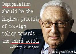 kissinger-depopulation