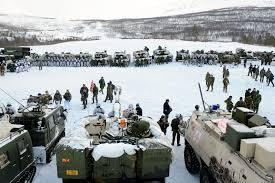 north pole warfare