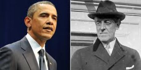 Obama and Wilson separated by a century but not by a desire to dismantle America.