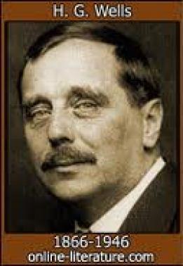 HG Wells, an avowed globalist.