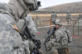 Fort Carson has been emptied out as the troops and equipment have been rolled out across Pinon Canyon destroying the land of private ranchers.
