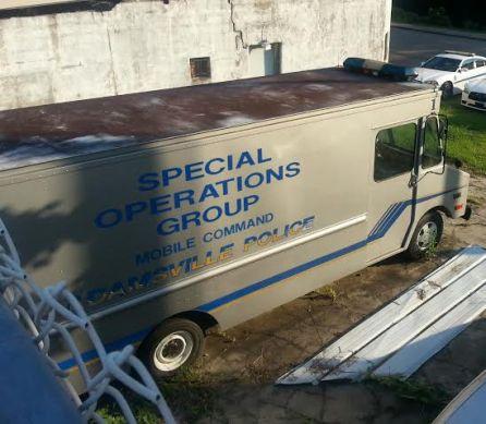 adamsville operations command vehicle
