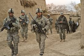 The majority of American combat troops are in Afghanistan. When WW III breaks out, they will be isolated and without resupply or intelligence.
