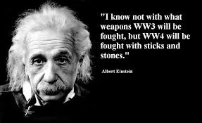 einstein and world war III