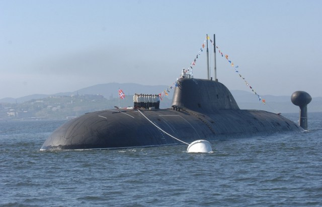 russian sub to india