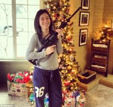Merry Christmas from a well-armed America