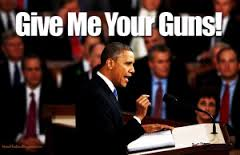 Despite the fact that violent crime is soaring across America, the President is still moving in the direction gun confiscation.