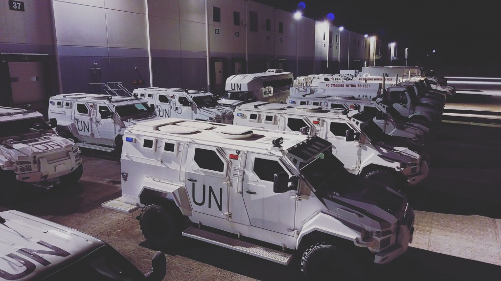 un war vehicle